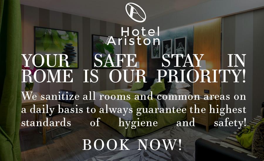 hotel-ariston-rome-sanification